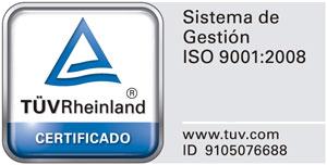 Icono TUV Certificado